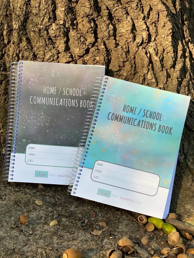 Home School Communications Book Unisex Older Childrens Edition portrait
